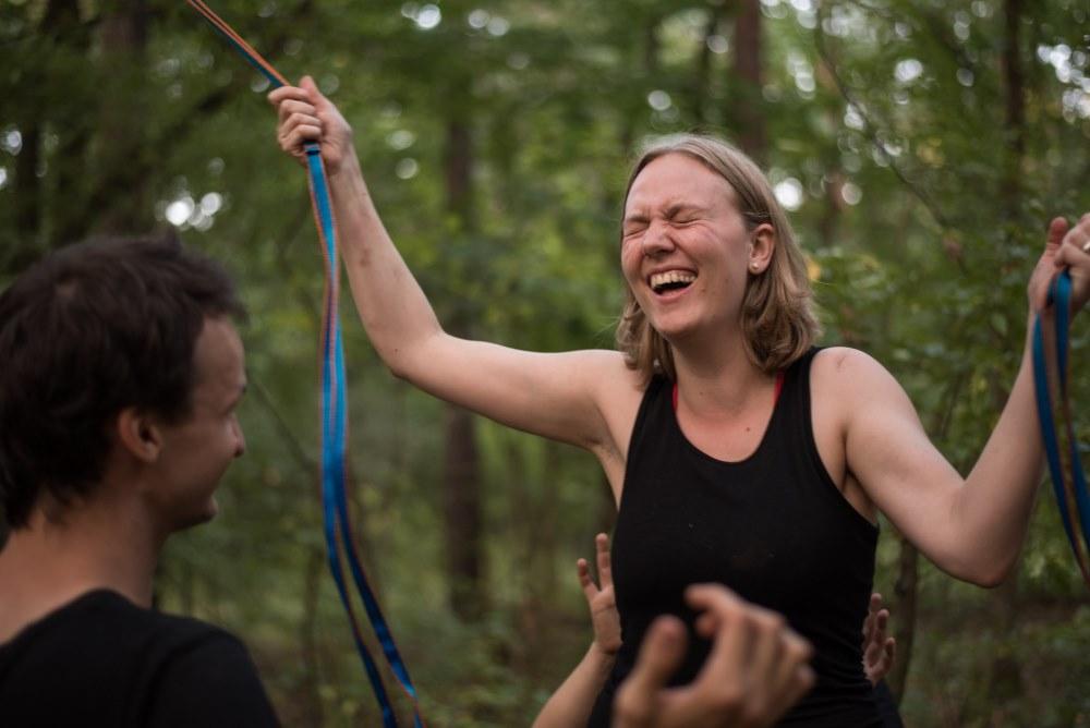 Wald und Seil und Lachen