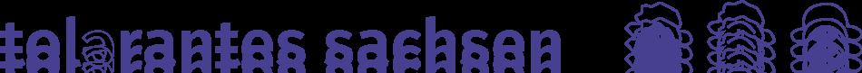 Logo tolerantes Sachsen